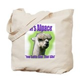 Alpaca Gangsta Wear Tote Bag
