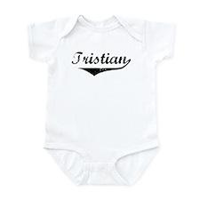 Tristian Vintage (Black) Infant Bodysuit