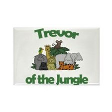 Trevor of the Jungle Rectangle Magnet