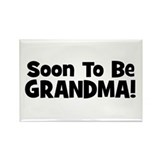 Soon To Be Grandma! Rectangle Magnet