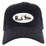 Rock Star Black Cap