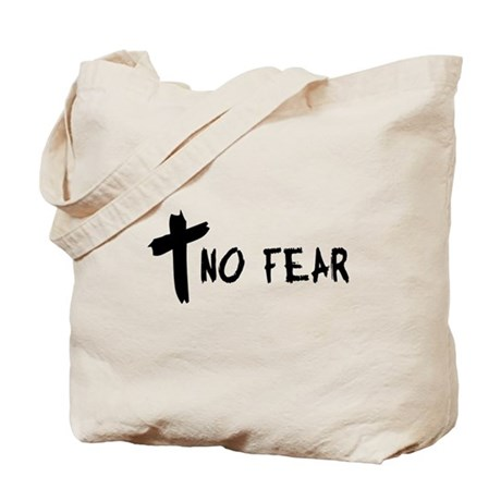 No Fear Cross Tote Bag