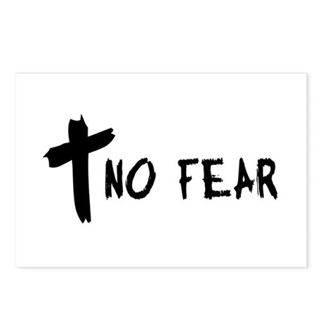 No Fear Cross Postcards (Package of 8)