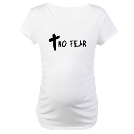 No Fear Cross Maternity T-Shirt
