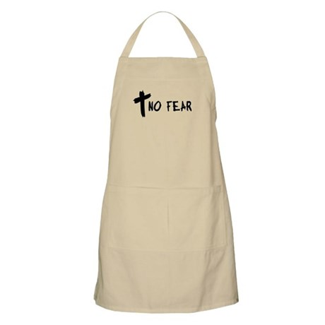 No Fear Cross BBQ Apron