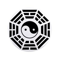 "Ying and Yang 3.5"" Button (100 pack)"