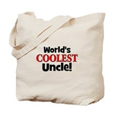 World's Coolest Uncle!  Tote Bag