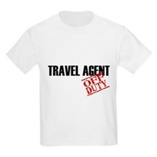 Off Duty Travel Agent T-Shirt