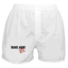 Off Duty Travel Agent Boxer Shorts