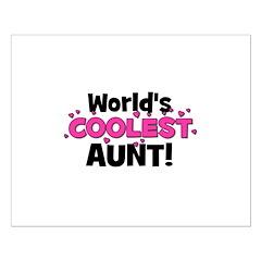 World's Coolest Aunt! Posters