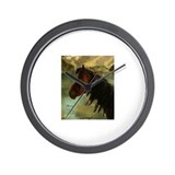 Nevada Mustang Wall Clock