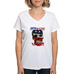 Anti War Women's V-Neck T-Shirt