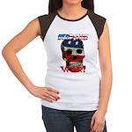 Anti War Women's Cap Sleeve T-Shirt
