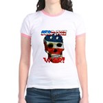 Anti War Jr. Ringer T-Shirt