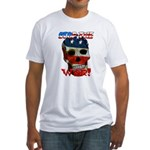 Anti War Fitted T-Shirt