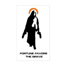 Divine Intervention Rectangle Decal