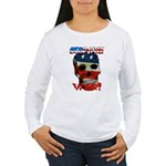 Anti War Women's Long Sleeve T-Shirt