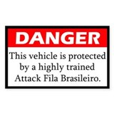 Attack Fila Brasileiro Decal