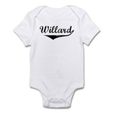 Willard Vintage (Black) Infant Bodysuit