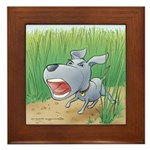 Poindexter's Framed Tile