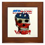 Anti War Framed Tile