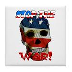 Anti War Tile Coaster