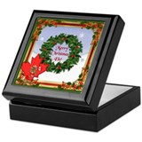 Canadian Christmas Keepsake Box