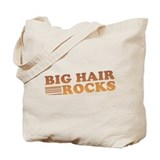 Big Hair Rocks 80's Tote Bag