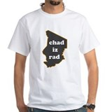 &quot;Chad Iz Rad&quot; blue fill T-shirt!