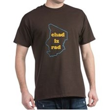 """Chad Iz Rad"" dark T-shirt!"