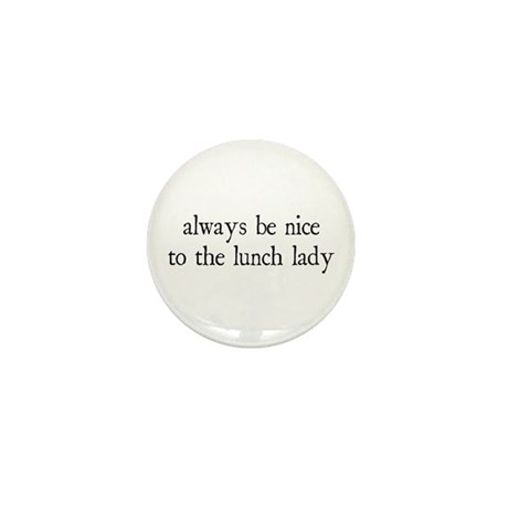 Lunch Lady Mini Button (10 pack)
