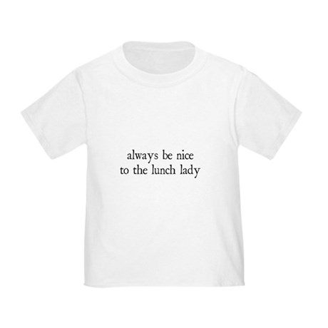 Lunch Lady Toddler T-Shirt