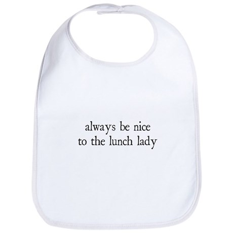 Lunch Lady Bib