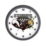 Skunk Wall Clock