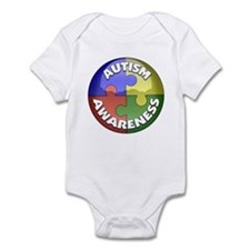 Autism Awareness Jewel Infant Bodysuit