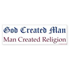 God & Religion Bumper Bumper Sticker