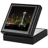 Seattle at Night Keepsake Box