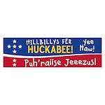 Hillbillys for Huckabee (Bumper)