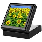 Sunflower Cluster Keepsake Box