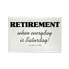 Retirement Weekend Rectangle Magnet