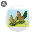 Mille Fleur Rooster & Hen 3.5