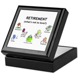 Retirement Love Keepsake Box