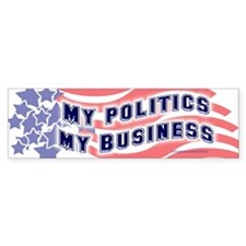 Political Business Bumper Bumper Sticker