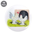 Porcelain d'Uccle Rooster and 3.5