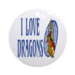 Dragon Keepsake (Round)