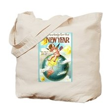 Happy New Year #1 Tote Bag