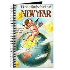Happy New Year #1 Blank Notebook Journal