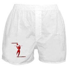 Cute Volleyball christmas Boxer Shorts