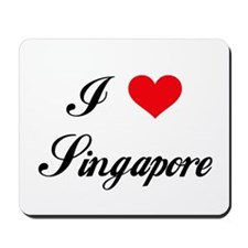 I Love Singapore Mousepad