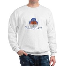 bluebird design Sweatshirt